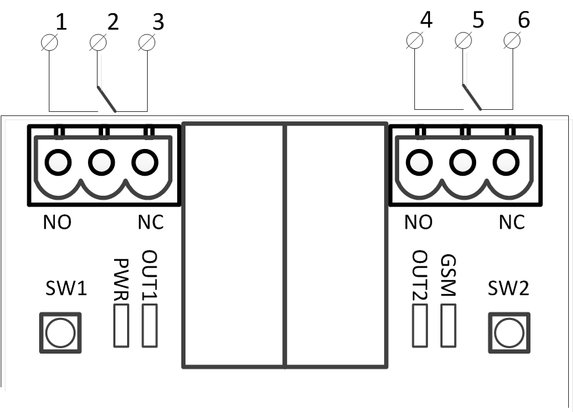 Simpal T3 - shema povezivanja