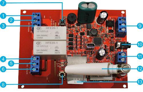 Daljinsko upravljanje GSM - T3 - Simpal