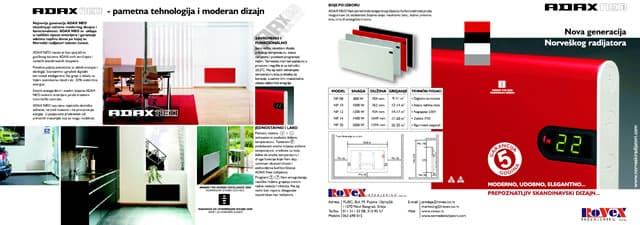 Katalog norveski radijatori ADAX NEO