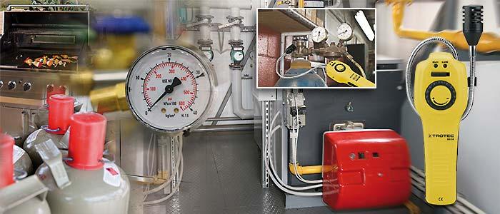 BG30 detektor gasa