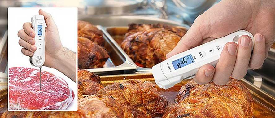 BP2F HACCP ubodni i infracrveni termometar