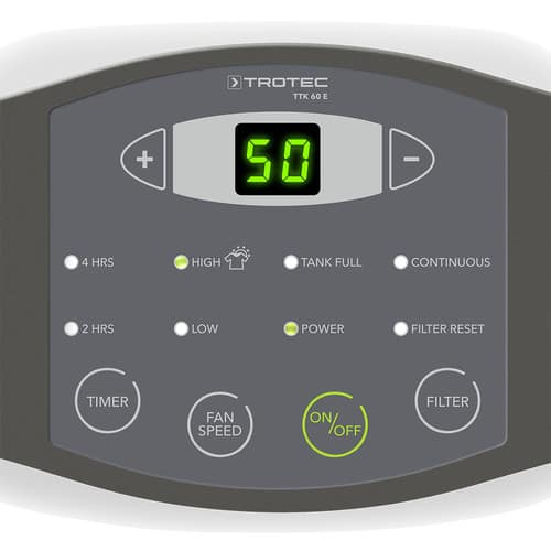 kontrolni panel TTK60