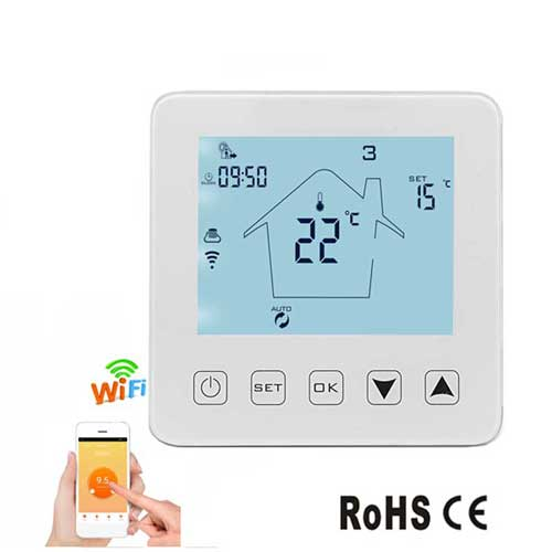 E8.1HY08WW-4 Termostat WiFi (house)